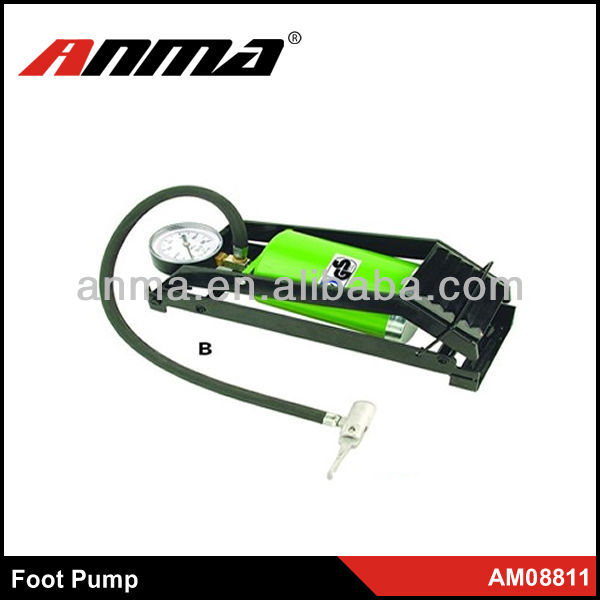 High pressure single bicycle hand air pump