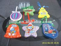 plastic christmas decoration bell/star/boots/tree/ball