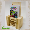 Factory Price Wooden Brochure Stand, Flyer Display Stand, Wooden Menu Holder