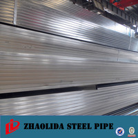 hollow steel pipe ! pre-galvanized plastic coated square pipe galvanized square iron pipe