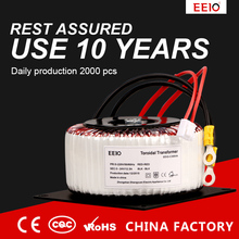 Toroidal Transformer 220v to 12V 24v 105VA 250VA 280VA 300VA 360VA 500VA 800VA 1000VA 1200VA1400VA 2000VA 2200VA can Customized
