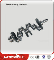 SANY SY335 construction machinery parts of cheap air compressor crankshaft