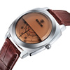 SKONE 9244 sport leather special person watches