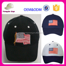 China Supplier US American Flag Led Cap with Light-up Embroidery Logo