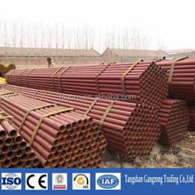 low carbon steel tube can be color painted products