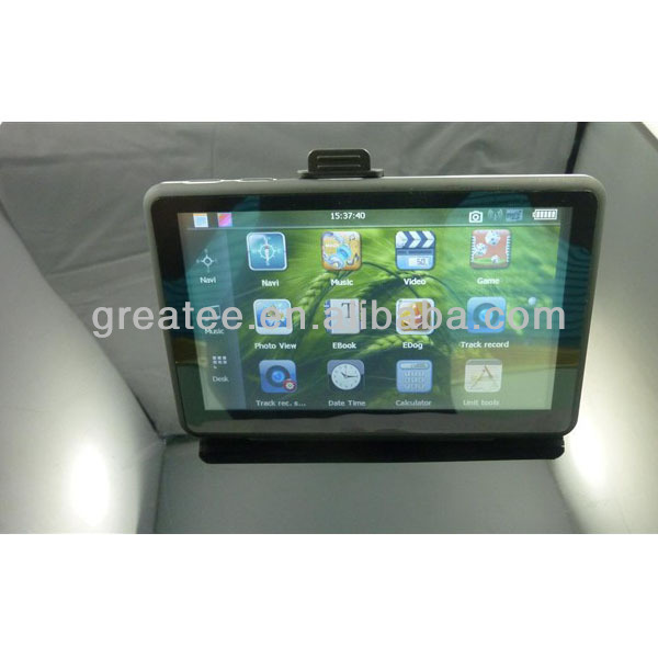 5 inches Car GPS Navigation with DVR AV-IN Bluetooth ,Offer Map