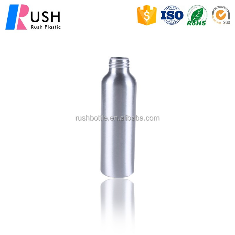 can be customized aluminum bottle plastic jar