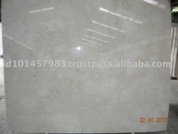 High Quality Polished Beige Marble Tile