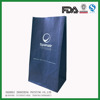 high quality feel block bottom printed and perforated garbage bag for vomit use