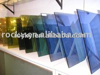 5mm Blue Reflective Glass for Curtain Wall