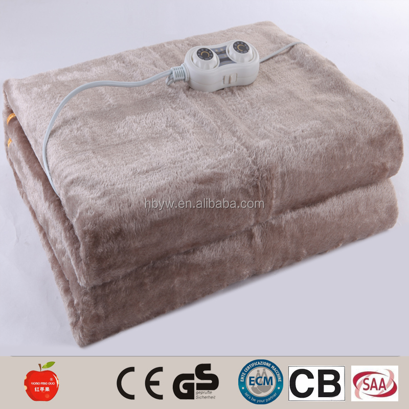 factory wholesale winter heated bed warmer electric blanket