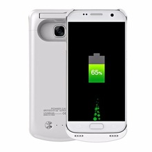 korea design mobile power supply rechargeable cell phone battery case wireless charging for samsung galaxy s7