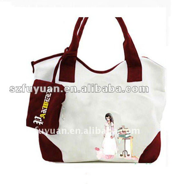 vogue design carteras handbag,tote handbag ,cotton handbag