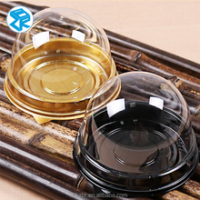 High quality round cake box clear rectangular cake box clear plastic cup cake boxes packing