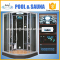 one person portable steam sauna room enclosed steam shower room
