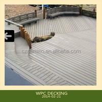 Camino wpc outdoor patio decking floor coverings