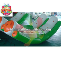 inflatable water game toys for adults, customized inflatable rocking water toys for sale