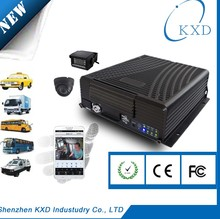 H.264 3G Mobile DVR Internet With GPS ; Wifi Function