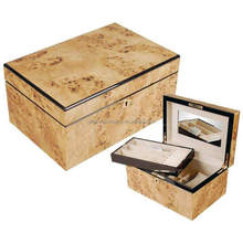 Brand new beautiful wooden jewelry boxes decorate made in China
