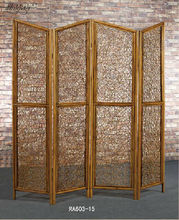 natural rattan room dividers