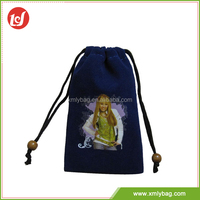Excellent quality moistureproof durable cute drawstring bags