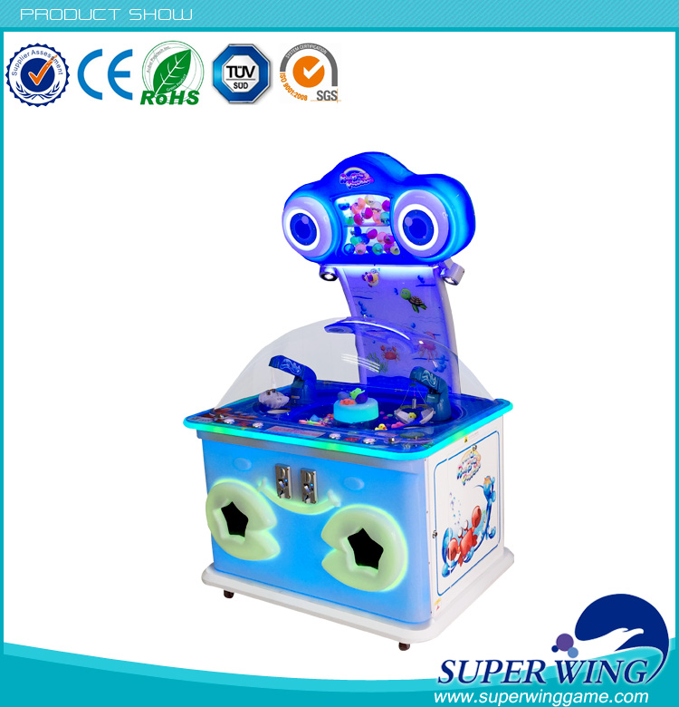 Indoor coin operated vending game ,mini rainbow paradise game machine