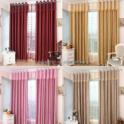 kinds of blackout curtain and fabric designs