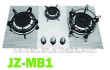 ce perfect design gas stove with 3 burner