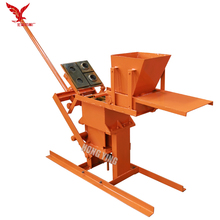 Compressed Earth Red/Clay/Fire Brick Block Making Machine for Bangladesh Market JZ-1
