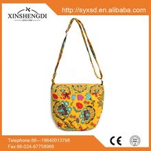 High quality cotton bright quilted casual beach indonesian handbags