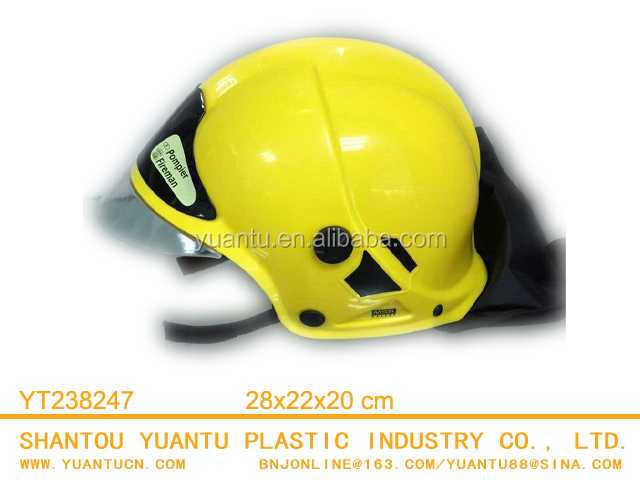 Plastic 230g Fire Protection Fire Hat Safety Helmet Toy