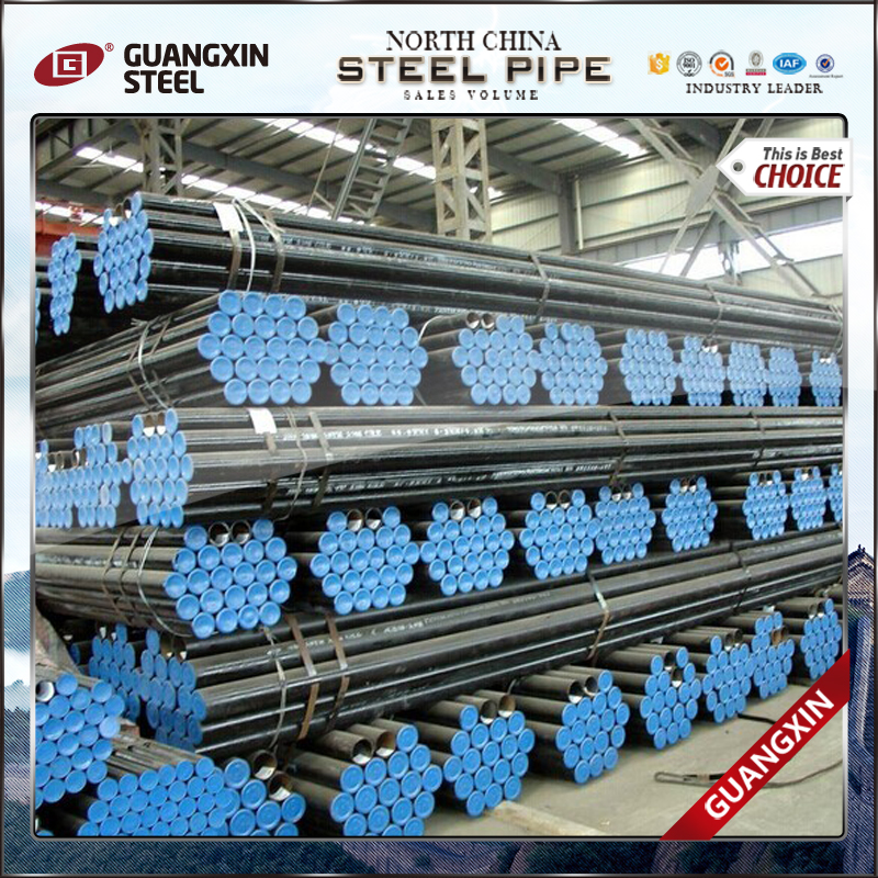 seamless schedule120 steel pipe for the structure and transport gas and oil