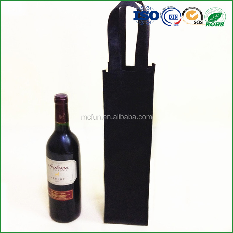 One Bottle Personalized Wine tote handle Bags