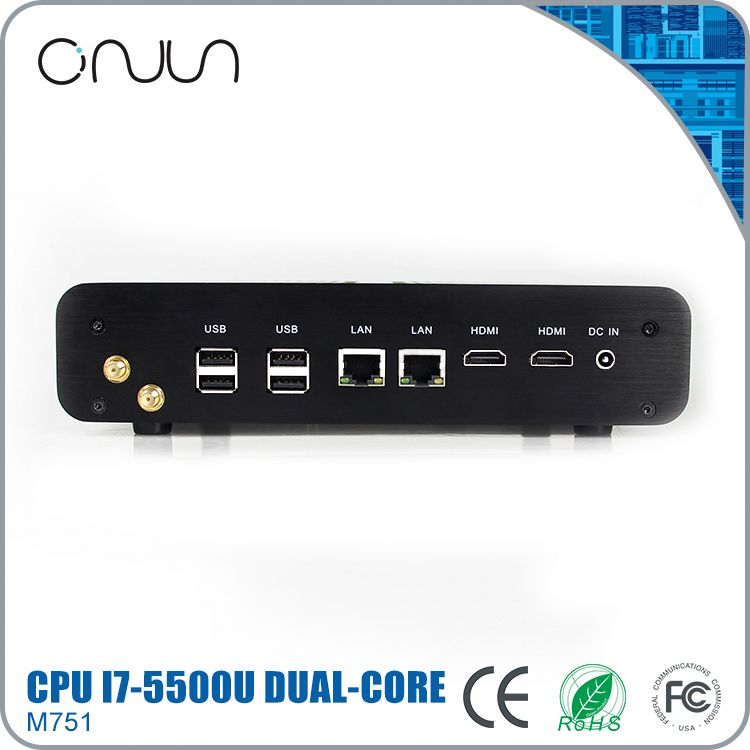 i7 desktop computer fanless mini itx pc low power mini computers