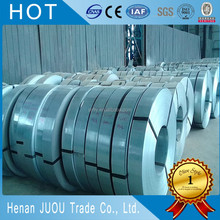 65Mn electric galvanized hot dipped strip / strapping / annealed steel band
