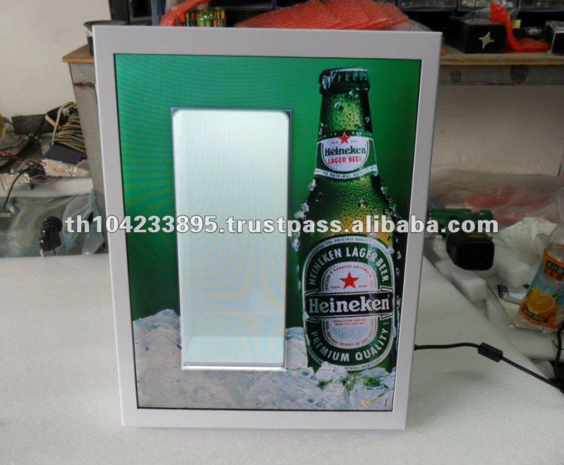 Hollow Display | LED Display | Backbar Display