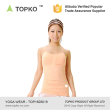 TOPKO Yoga Long Racerback Tank Top Fitness Wear
