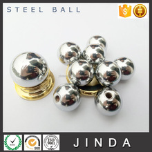 New design Chrome plated steel ball with hole