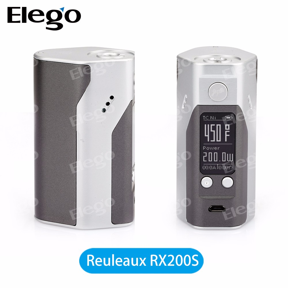 Wismec RX200S Reuleaux 200w mod box good price e cigarette wholesale electronic cigarette
