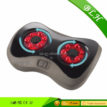 BLH high quality 3D design multi-funciton kneading shiatsu blood circulation infrared heated wave foot massager with heating fun