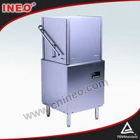 High Efficiency Hood Type Hotel Industrial Dishwasher/Commercial Dishwasher Price