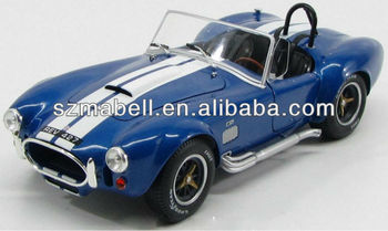 1:18 scale polyresin bule color car model