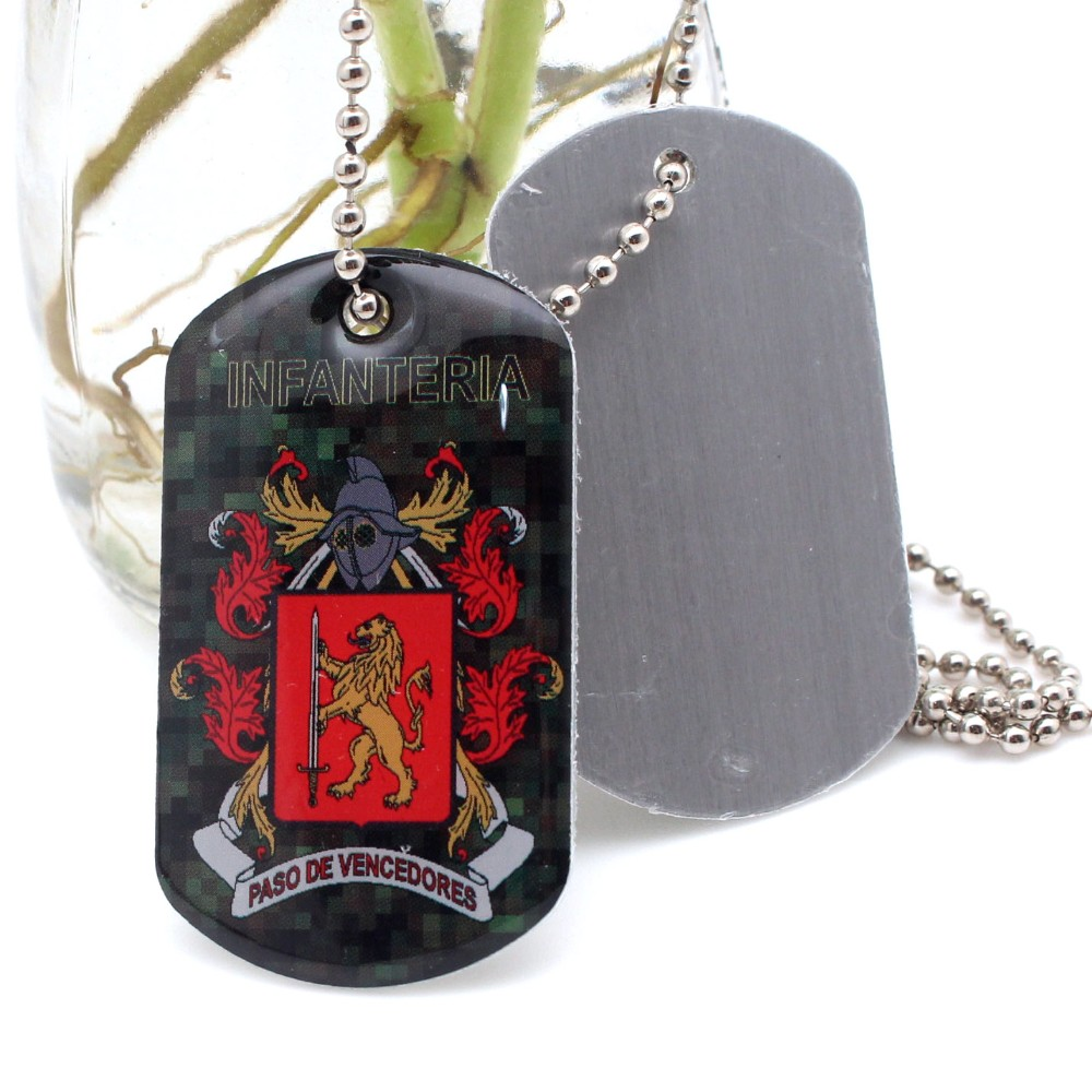 Wholesale custom aluminum printing metal dog tags