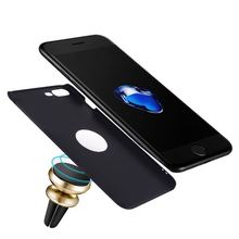 Slim Magnetic Car Holder Hard PC Phone Cover for iphone 6 7 8, Bulk Cell Phone Case
