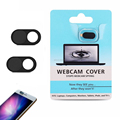 Webcam Cover for iPhone Android Smartphones-Black color /2-pack, with blister card packing