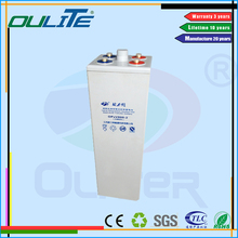 Oliter practical manufacturer energy vrla agm gel 2V 800AH solar battery for ups