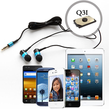 Awei ES-Q3 Consumer Electronics 2017 Cheap 3.5MM Wired In-ear Earphone For Mobile Phones