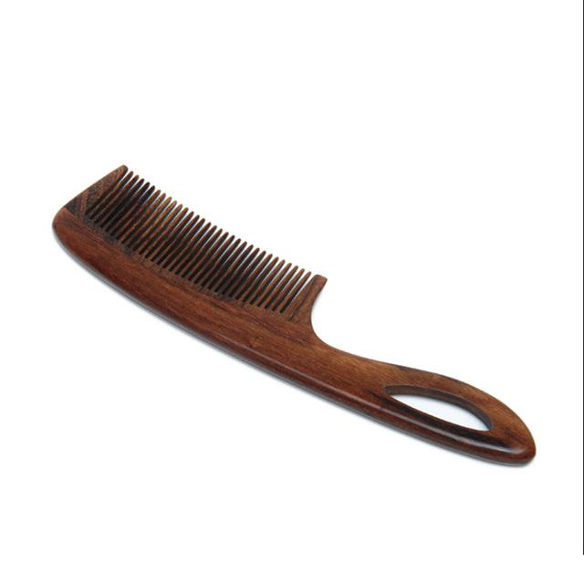 Hot selling Elegant design logo hair coloring beard comb