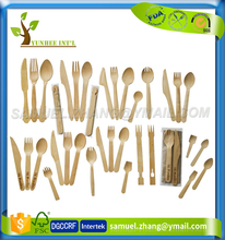 Birch Wooden Disposable Cutlery for Salad