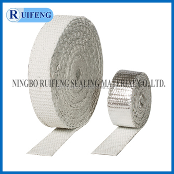 dust free rock wool tape with Aluminium